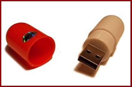 Memory stick pillola da 16 gb