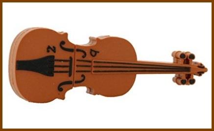Pendrive a forma di violino
