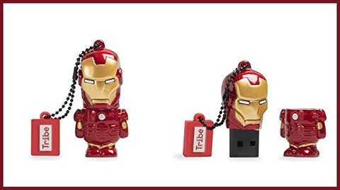 Pen drive marvel iron man usb