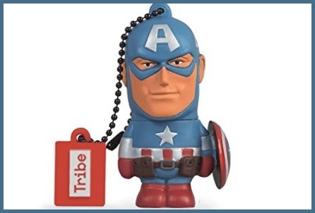 Pen drive originale della marvel captain america