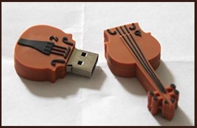 Memory stick a forma di violino