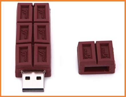 Chiavetta a forma di cioccolato usb