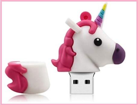 Chiavette forme particolari unicorno