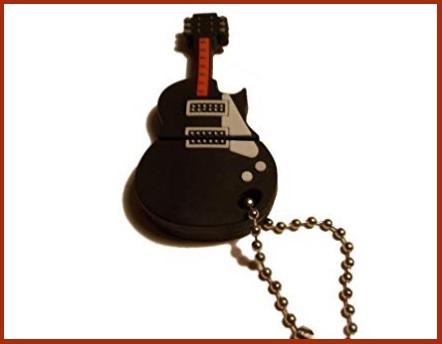 Usb a forma di chitarra elettrica