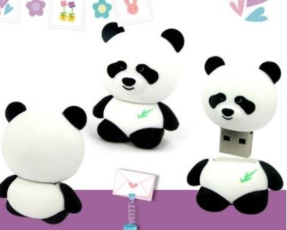 Chiavetta usb 2.0 a forma di panda