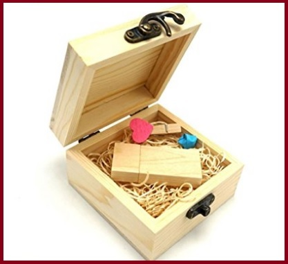 Chiavetta usb personalizzate legno
