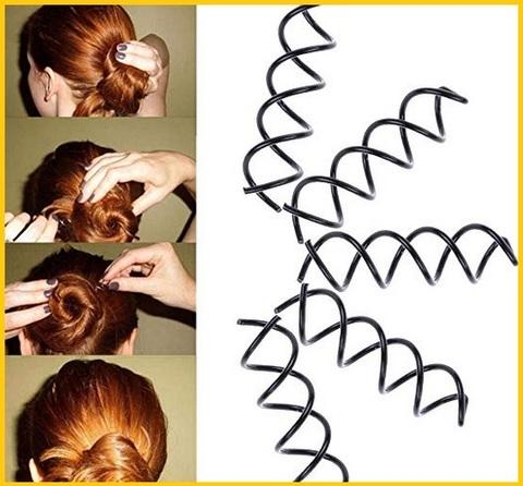 Chignon per capelli grande clip