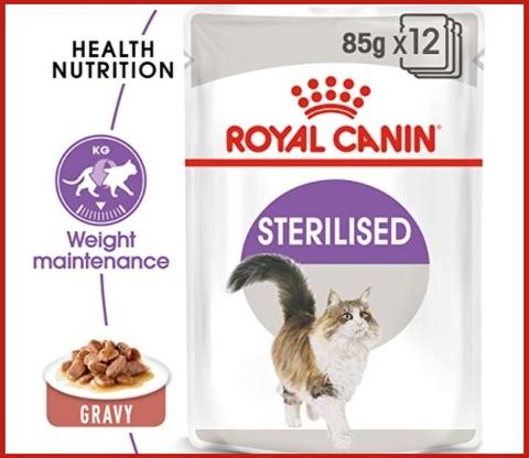Cibo gatti sterilizzati royal canin