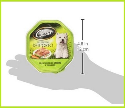 Scatoletta Da Mangiare Per Cani Con Manzo E Verdure