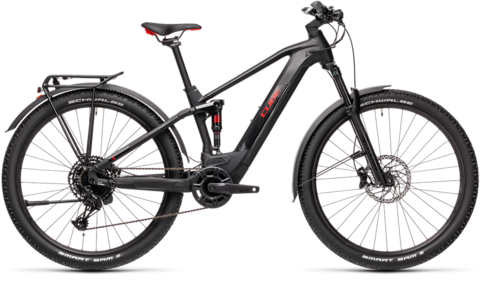 Cube stereo hybrid 120 pro allroad 625 black n red 18