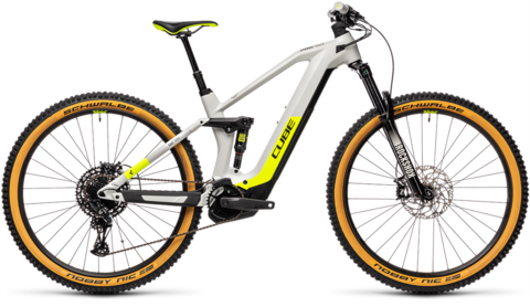 "Cube Stereo Hybrid 140 Hpc Race 625 Grey N Yellow 20""  29 L"