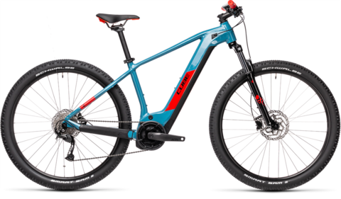 "Cube reaction hybrid performance 625 blue n red 17"" / 29 / m 