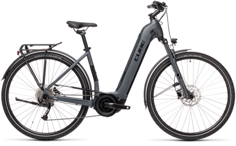 Cube Touring Hybrid One 500 Grey N Black Ee Xs 46
