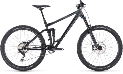 Cube fullsuspension stereo 160 race 27.5 black n grey 20
