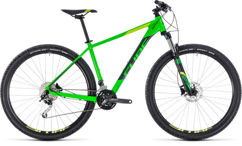 Cube mtb analog 29 flashgreen n grey taglia 23