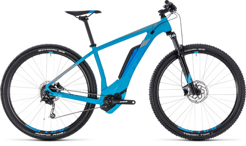 Cube e-bike reaction hybrid one 500 27,5