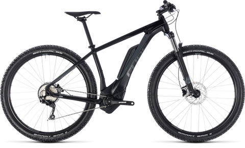 "Cube e-bike reaction hybrid pro 500 black ngrey 17"" 29"" 2018"