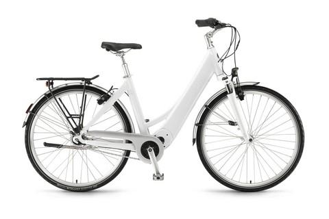Winora e-bike manto m7 7v nexus rl 36v 400wh bianco sale t50