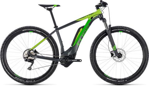 "Cube e-bike reaction hybrid pro 500 iridium n grey 21"" 29"""