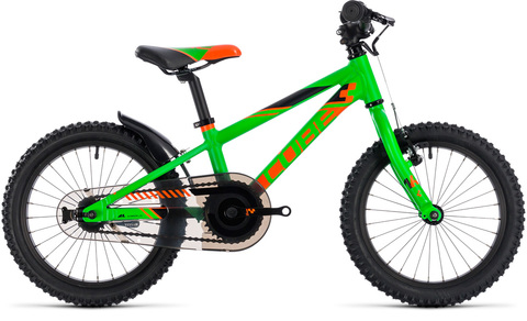 Cube Kid 160 Flashgreen N Orange 2018