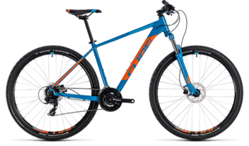 "Cube Mtb Aim Pro Blue N Orange 27,5"" 14"" 2018"