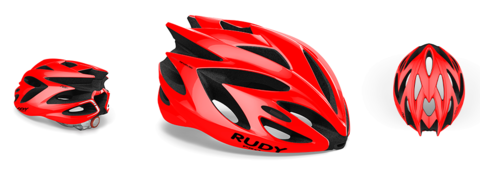 Rudy project rush red shiny s 51/55