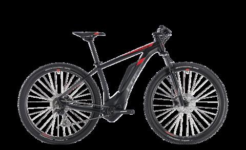 "Cube E-bike Reaction Hybrid One 500 Black N Red 17"" 29"" 2018"