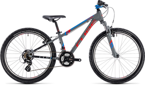 Cube kid 240 action team grey 24"