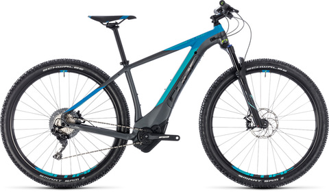 Cube ebike reaction hybrid sl 500 iridium n blue 2018 19