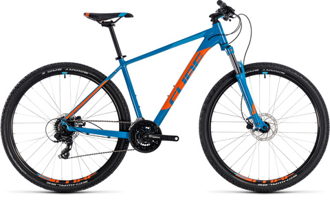 Cube mtb aim pro blue n orange 27,5