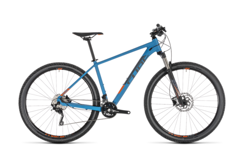 "Cube Mtb Attention Sl Blue N Orange 2019 27,5"" 16"""