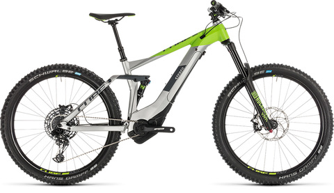 Stereo hybrid 160 race 500 27.5 grey n green 18