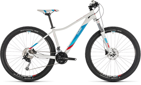 Cube  access ws pro 16'' white n blue 27.5