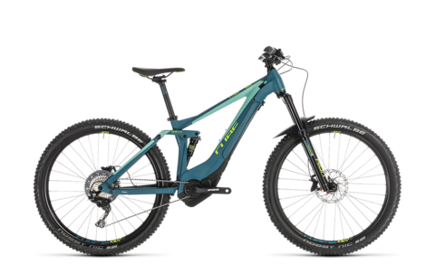 Cube Sting Hybrid 140 Race 500 27.5 Pinetree N Green 20""