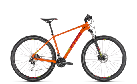"Cube Analog Orange N Red Taglia 19"" 29"""