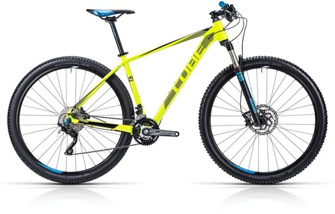 Cube ltd pro spicy yellow n blue 29 19