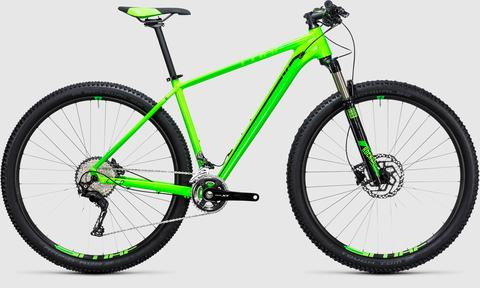 Cube  ltd pro 2x green n black 29