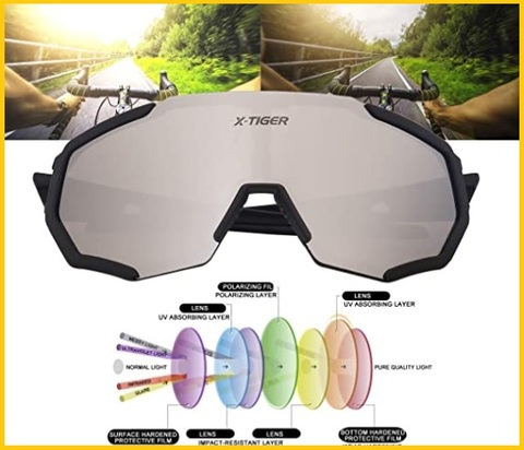 Accessori Ciclismo Occhiali Sole