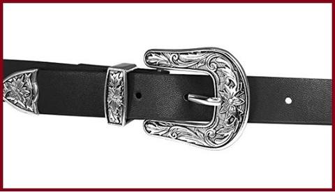 Cintura elegante nera donna