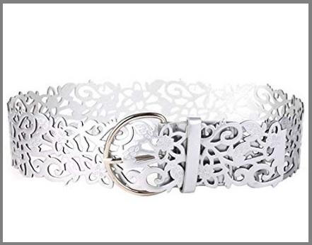 Cintura elegante argento donna