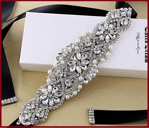 Cintura elegante argento e brillanti