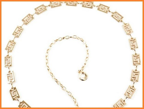 Cintura elegante donna oro