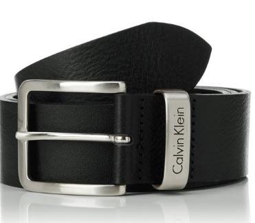Cintura Calvin Klein Da Uomo Casual In Pelle