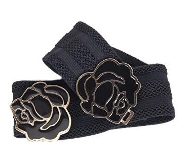 Fascia cintura per ragazze con fiori