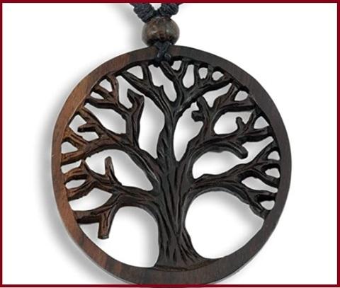 Ciondoli in legno per collane