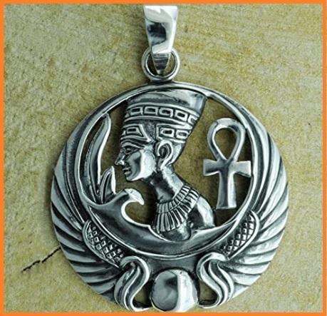 Ciondoli in argento faraone