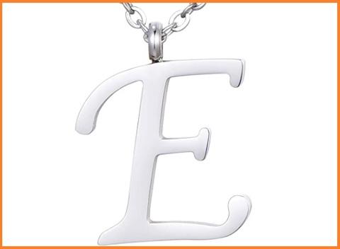 Ciondolo Lettera E