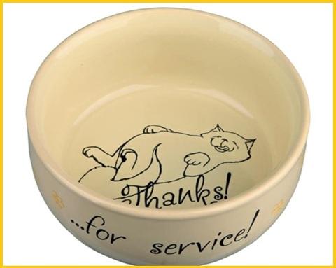 Ciotola per gatti ceramica
