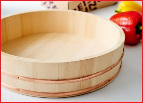 Ciotola legno sushi