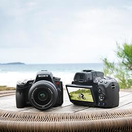 Fotocamere sony compatte e reflex
